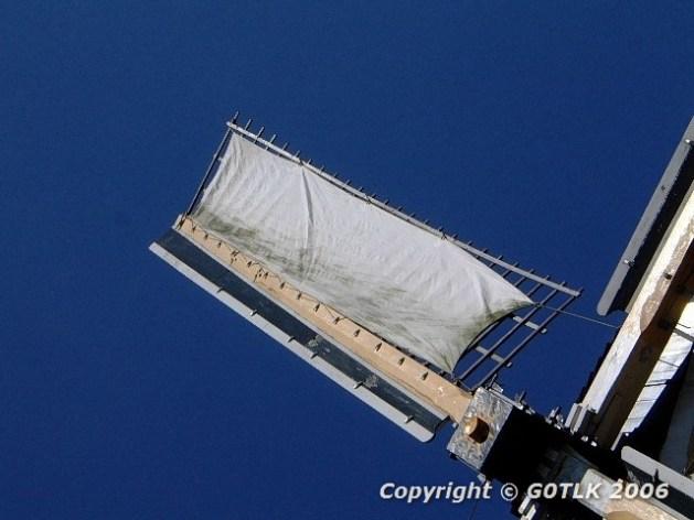 Windmill canvas sail