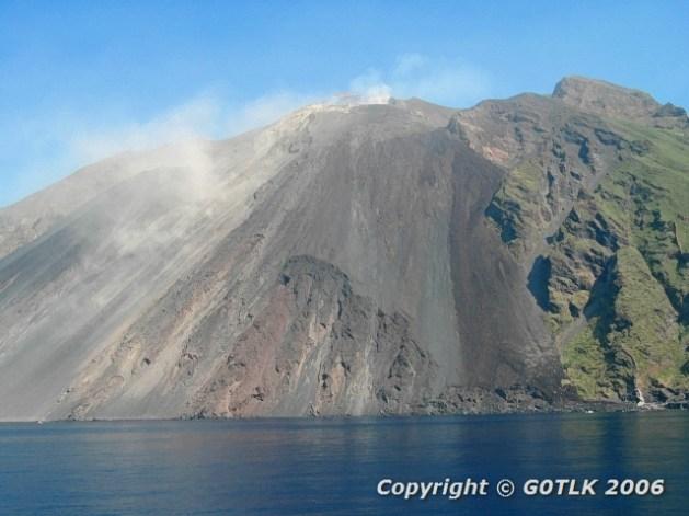 Live volcano - Italy