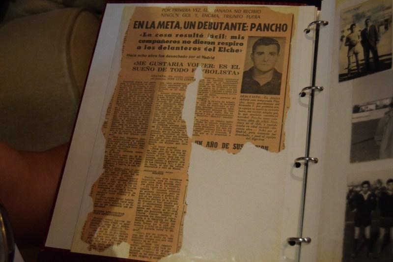 Publicación de los medios sobre el partido en Elche. Imagen: @davinniapg