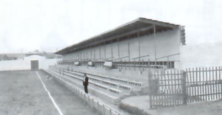 El estadio, en los años 50