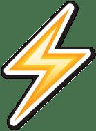 emoji-rayo