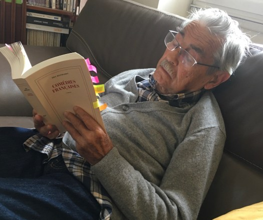 Louis Pouzin lisant Eric Reinhardt