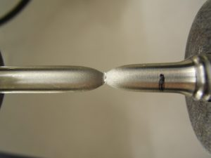 Tensile test of a specialized component made of a customized stainless steel by G2MT Labs