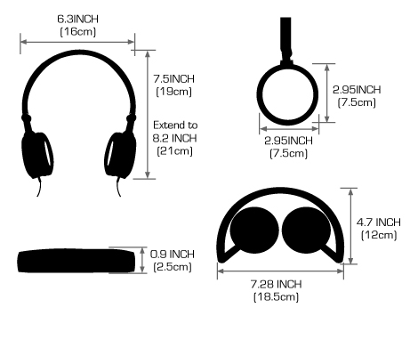 Noise Cancelling Headphone Wiring Diagram Clip On
