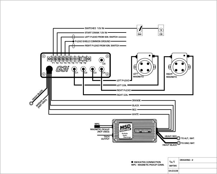 msd 8982 hei wiring diagram