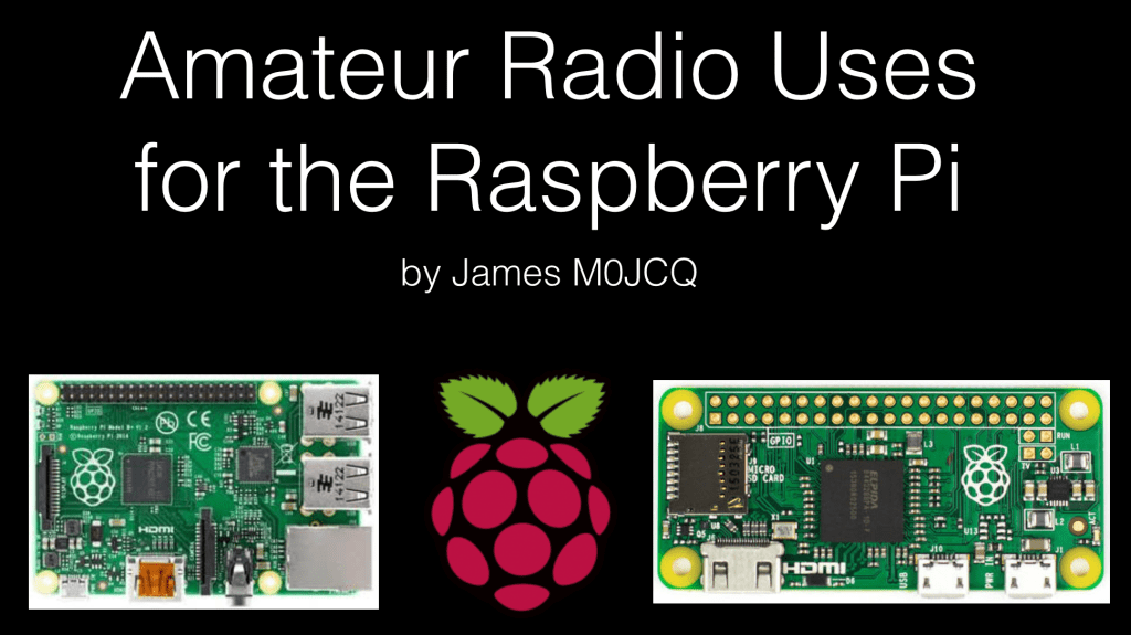 Amateur Radio Uses for the Raspberry Pi