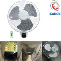 "16"" Wall Mounted Fan Remote 3 Speed oscillate Hydroponics ..."