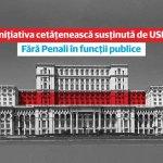 Toate cele trei proiecte majore propuse de USR, respinse de conducerea Camerei Deputaților. Fără penali, alegeri locale în două tururi și abrogarea recursului compensatoriu, boicotate de PSD, UDMR și Pro România