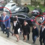 VIDEO Cum au tratat-o Dragnea și liderii PSD pe Dăncilă la Botoșani: au lăsat-o în urmă pe drumul de la mașină la Casa de Cultură