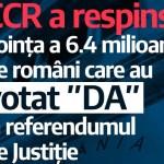 Reacția opoziției la respingerea de către CCR a inițiativei de revizuire a Constituției / PNL: Decizia pare a fi în favoarea infractorilor / USR: Decizia vine în flagrantă contradicție cu voința românilor