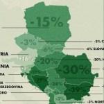 Catastrofa demografică din Europa ex-comunistă: rata depopulării din sud-estul continentului crește rapid
