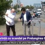 VIDEO Scene fără precedent: Aurelian Bădulescu, viceprimarul PSD al Bucureștiului, l-a împiedicat pe Nicușor Dan să susțină o conferință de presă