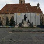 Mișcare anti-COVID în centrul Clujului. La eveniment nu a participat nimeni