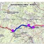 Autostrada Sibiu-Pitești: A fost scos la licitație primul tronson peste Carpați. Pe secțiunea Cornetu -Tigveni va fi construit și un tunel de 1,7 km
