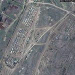 GALERIE Imagini din satelit cu trupele rusești masate la granița cu Ucraina