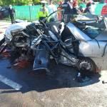 UPDATE Accident grav cu 5 morți pe DN1, în zona Nistorești/ Traficul rutier, restricționat