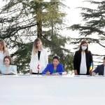 Președinții Republicii Moldova, Georgiei și Ucrainei au semnat o declarație comună privind aderarea la Uniunea Europeană