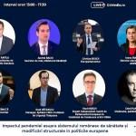 LIVE Lockdown sau restricții mai ușoare? Care sunt soluțiile optime pentru a opri pandemia? Europarlamentari și oficiali români discută despre impactul pandemiei asupra sistemului românesc de sănătate și modificările structurale în politicile europene – conferință organizată de G4Media.ro