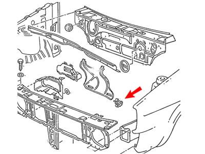 Sell Passat B4 Genuine VW Floor Heat Insulation Retaining