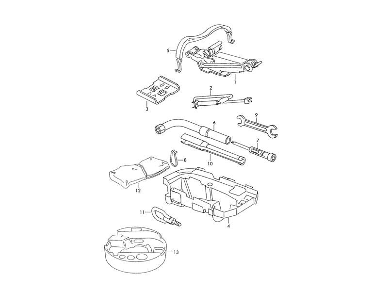 Golf MK3 Genuine VW Caution Sticker Air Conditioning