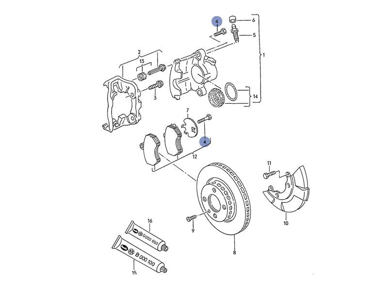 2009 Volkswagen Tiguan Engine Cooling Diagram