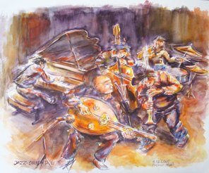 PRIX DE L'OFFICE DE TOURISME : Franz HOISS pour le n°109 « Oriental Jazz »