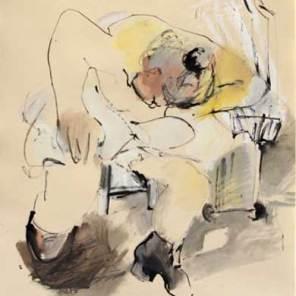 PRIX GEORGES MERARD : Hélène GILLET n° 100 « Mouvement n°2 »
