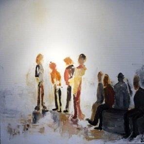 PRIX DE LA VILLE DE VILLEFRANCHE : Sabine BRISSAUD CHALINDAR pour le n°70 « Les gens »