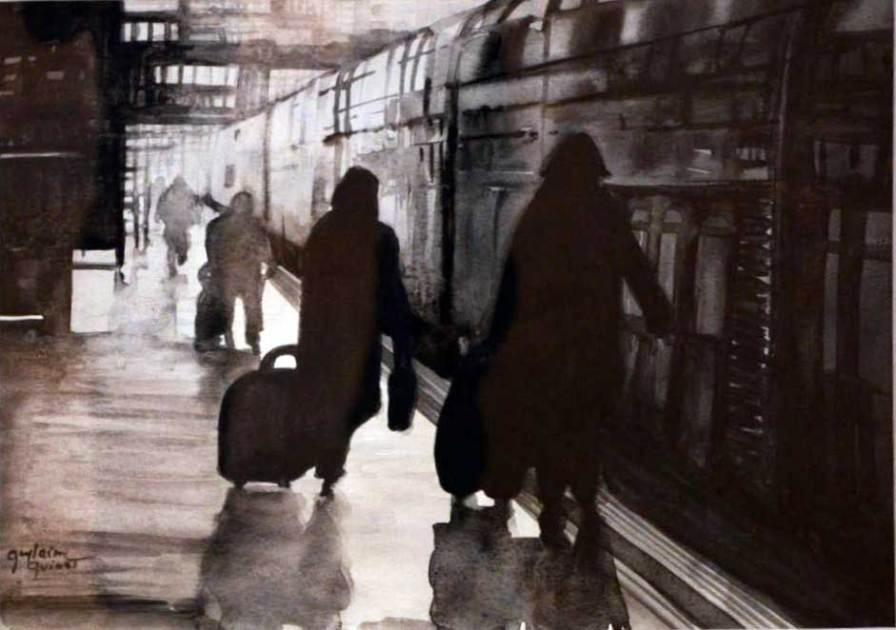 GRAND PRIX DU SALON 2011 : Offert par le GAB, Guylaine QUINET pour l'ensemble de son oeuvre