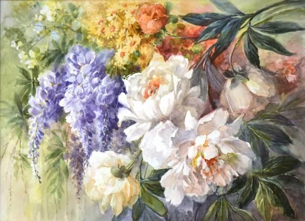 PRIX Bernard PERRUT 2016, décerné à Jean CHOLET pour le n° 68 « Floral » 2