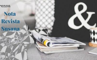 Letras que hablan…Nota Revista Susana