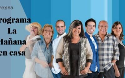 """Analisis de firmas de presidentes -Programa """"La Mañana en Casa"""" Canal 10"""