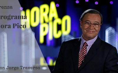 Hablando de Grafología en la Tv Uruguaya