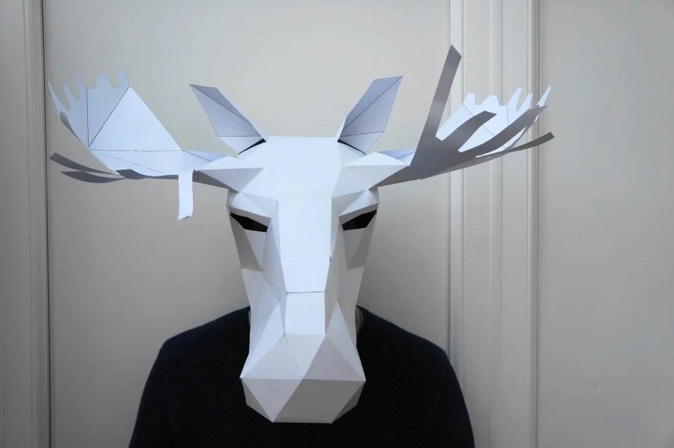 Cut To Perfection Paper Craft Animal Masks Gabbing Geek