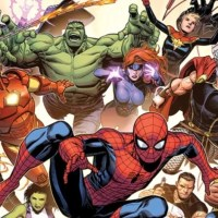 Marvel Comics Superhero Portrait Gallery