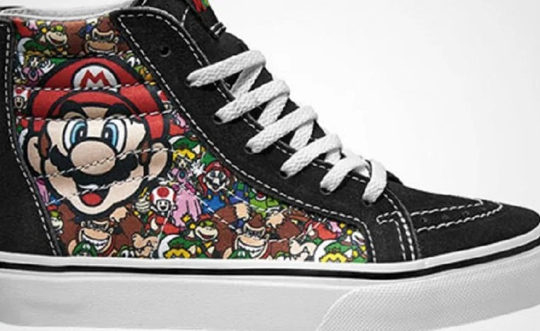 Nintendo Shoes Bound To Give You A 1UP In Life