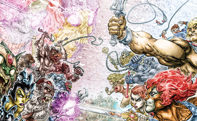 The He-Man/Thundercats Crossover That Never Existed Outside Your Toybox Is Coming