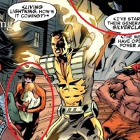 Slightly Misplaced Comic Book Hero Case Files #96:  Living Lightning
