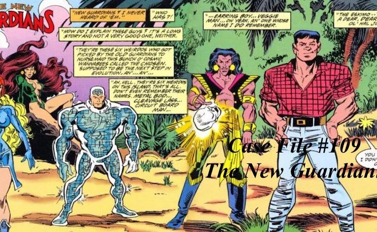 Slightly Misplaced Comic Book Heroes Case File #109:  The New Guardians