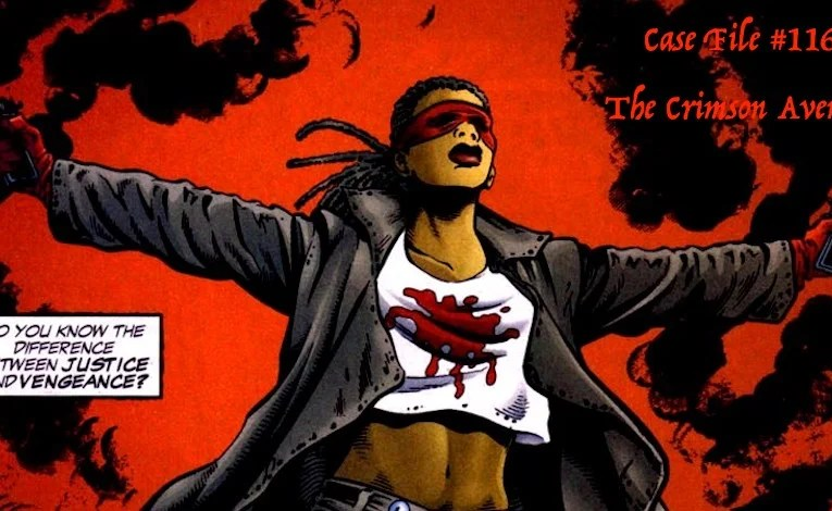 Slightly Misplaced Comic Book Heroes Case File #116:  The Crimson Avenger