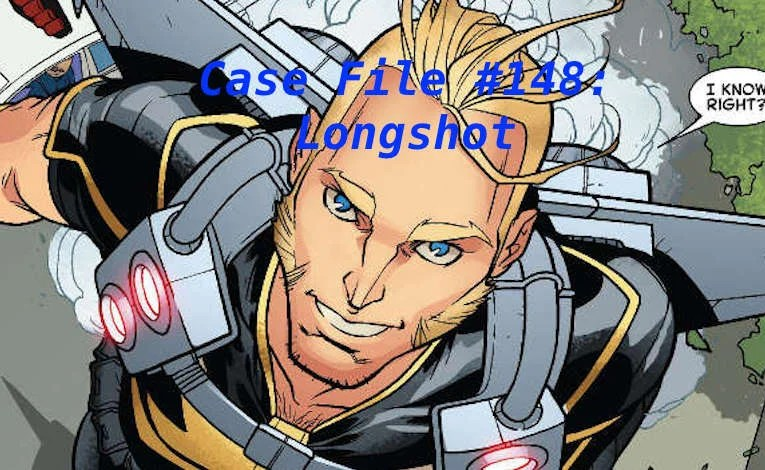 Slightly Misplaced Comic Book Case File #148:  Longshot