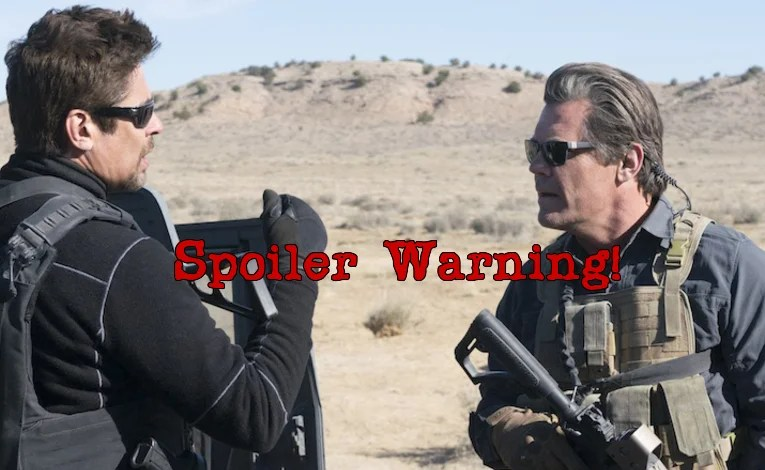 Spoiler Stuff:  Sicario: Day Of The Soldado