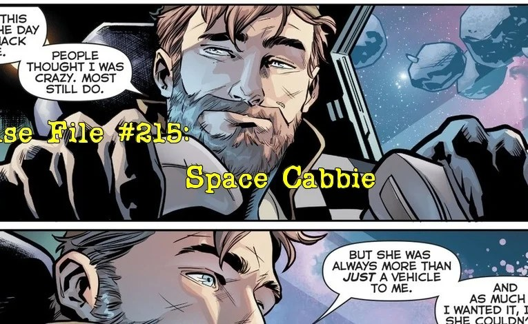 Slightly Misplaced Comic Book Heroes Case File #215:  Space Cabbie