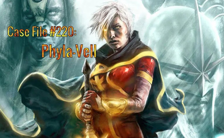 Slightly Misplaced Comic Book Heroes Case File #220:  Phyla