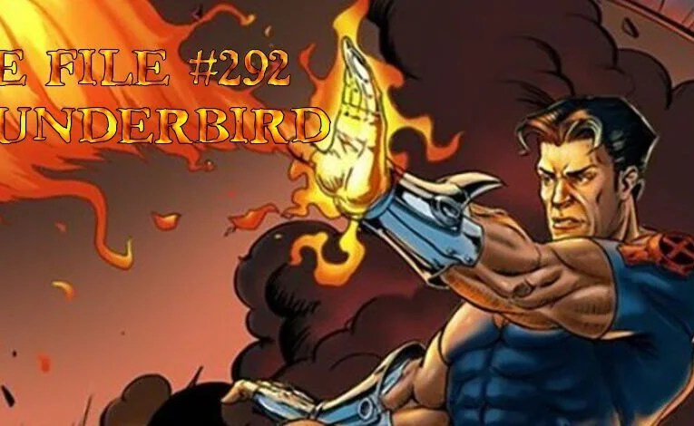 Slightly Misplaced Comic Book Heroes Case File #292:  Thunderbird