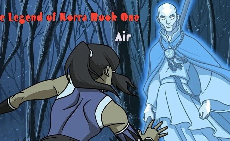 """The Legend Of Korra Book One """"Chapter Nine: Out Of The Past"""""""