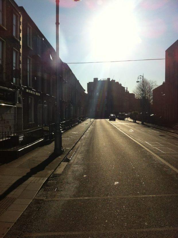 ireland side street