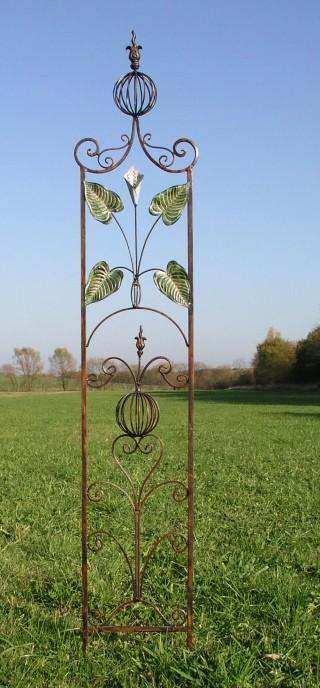 Rankstab Spalier Rankhilfe Rankgitter Rosenstab Obelisk Garten