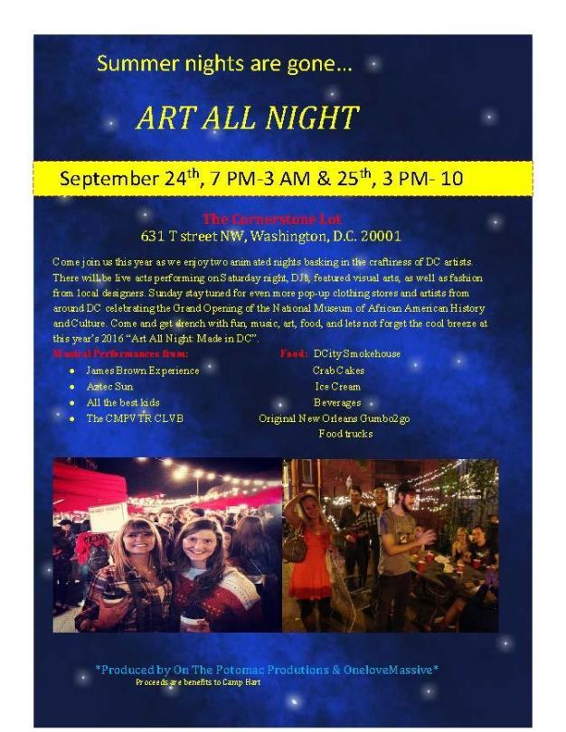 Art All Night Event