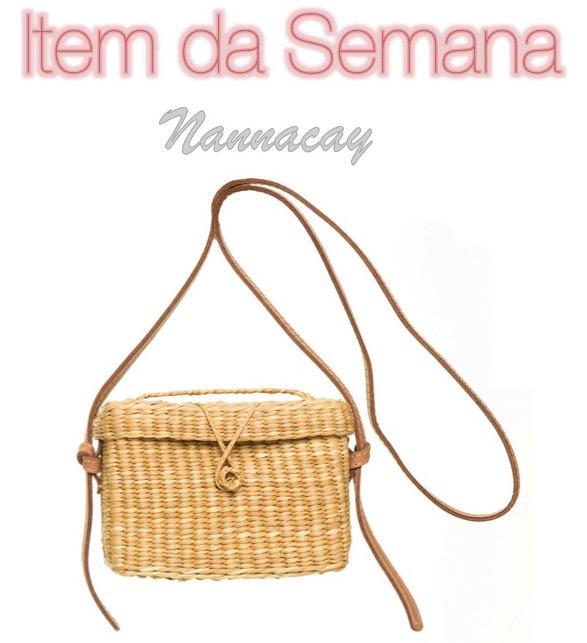 item da semana, bolsa de palha, verão, moda, estilo, looks, fashion, style, outfits, summer, straw bag